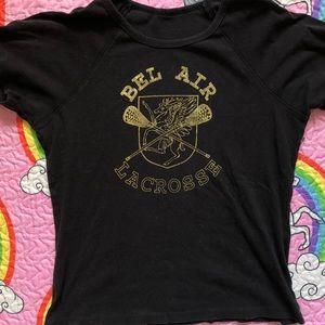 80s Bel Air Lacrosse Raglan T Shirt